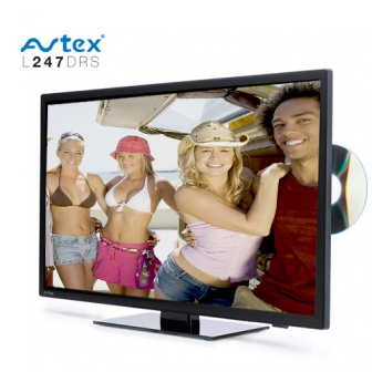 Avtex tv L247 DRS 12-24 volt camper tv