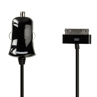 30 Pins 12 volt autolader voor iPhone, iPad en iPod