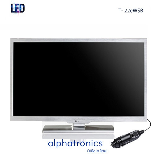 alphatronics t 22ewsb 12 24 volt led tv alphatronics. Black Bedroom Furniture Sets. Home Design Ideas