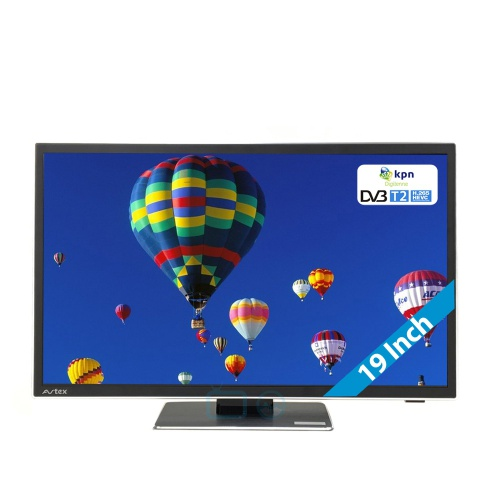 avtex tv l188dr 12 volt 19 inch met dvb t t2 en dvd 12. Black Bedroom Furniture Sets. Home Design Ideas
