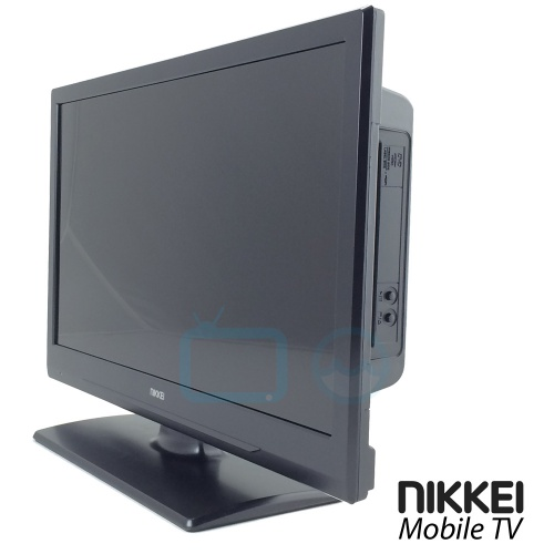 nikkei mobile tv nld22mbk 12 volt 22 inch led tv met dvb s. Black Bedroom Furniture Sets. Home Design Ideas