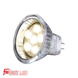 Losse LED MR11 6x SMD LED. 1,3 Watt (8 Watt halogeen)