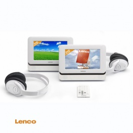 Lenco DVP 740 x2 in Apple wit